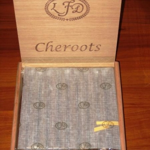 Cheroots Open With Wax